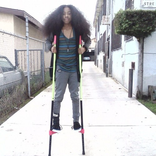 ray ray with his hair out :)