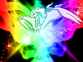 Reshi-Rainbow!! - reshiram fan art