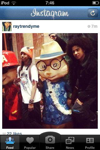 Roc Royal and ray ray :)