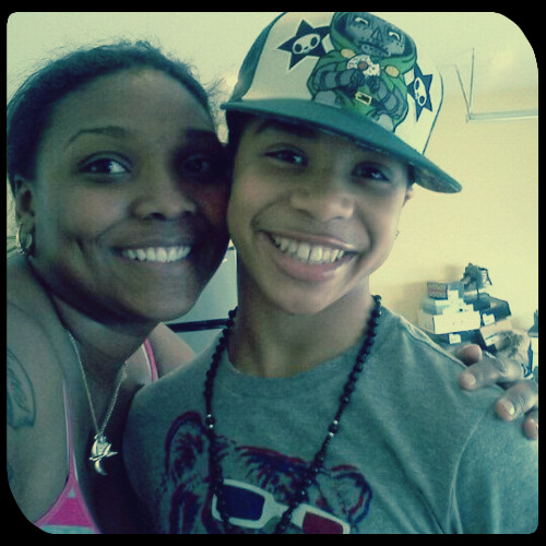 Roc Royal & his mommy :)