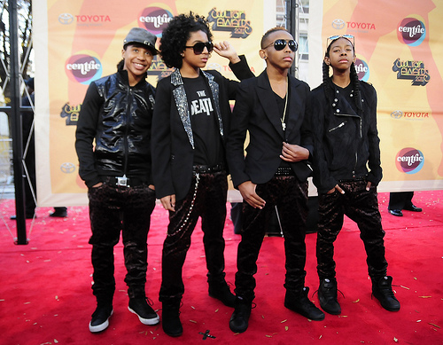 Roc Royal with MiB at the Soul Train Awards :)