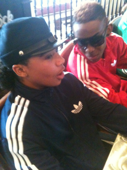 Roc Royal with Prodigy :)