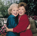 Rose &amp; Blanche - the-golden-girls photo