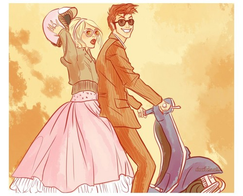Rose Tyler wallpaper with anime called Rose ~