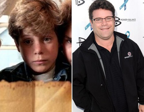 "The Goonies দেওয়ালপত্র entitled Sean Astin as ""Mikey Walsh"""
