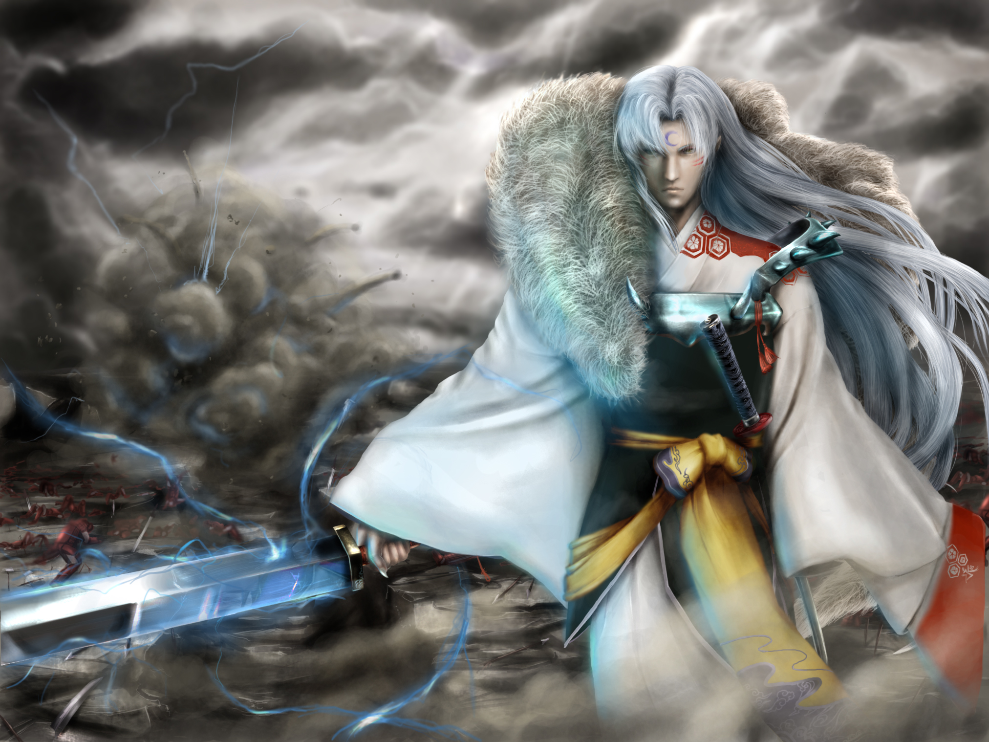 pics photos inuyasha sesshomaru wallpaper free wallpapers