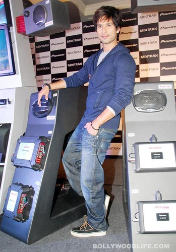 Shahid Kapoor at the Pioneer product launch event - shahid-kapoor Photo