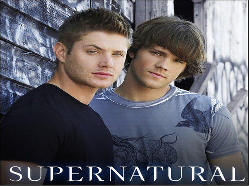 Supernatural wallpaper containing a sign and a jersey titled Supernatural