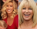 Suzanne Somers as Carol Foster - step-by-step photo