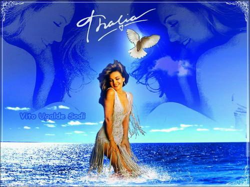 Thalia wallpaper entitled Thalia