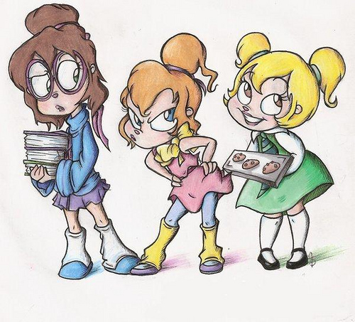 The Chipettes and their talents