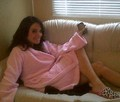 Tulisa in dressing gown xxx