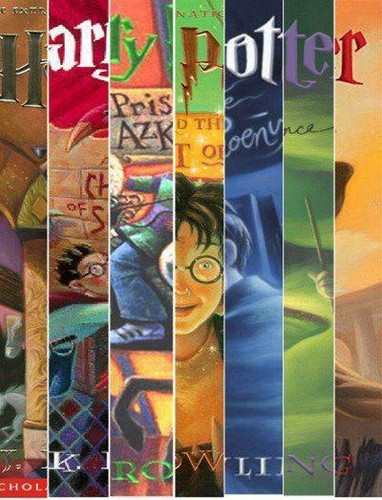 Harry Potter achtergrond containing anime titled US Book Covers