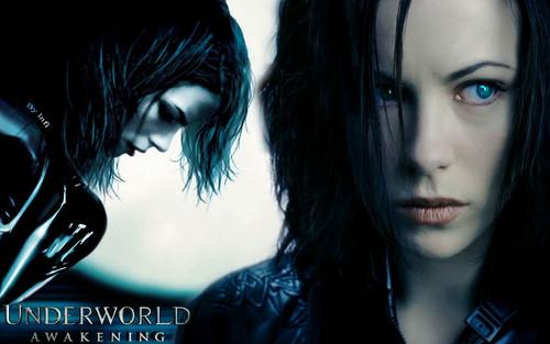 Underworld fond d'écran possibly containing a portrait titled Underworld: Awakening Selene
