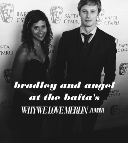 WWLM: Bradley James and angel Coulby