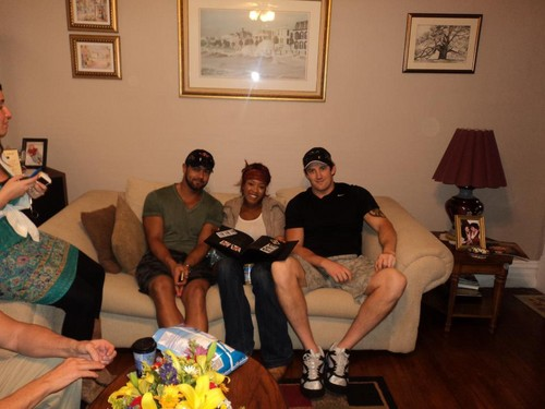 Wade Barrett,Alicia Fox,Justin Gabriel