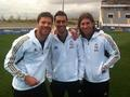 Xabi Alonso and team mates - xabi-alonso photo