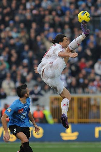 Z. Ibrahimovic (Novara - AC Milan)