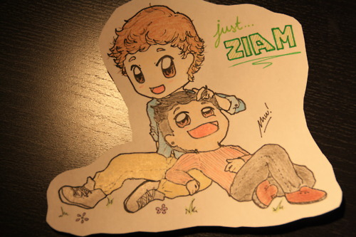 Zayn Malik achtergrond possibly containing anime entitled Ziam ! X ♥