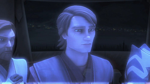 another holoimage of Anakin