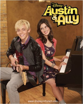 austin and ally close up