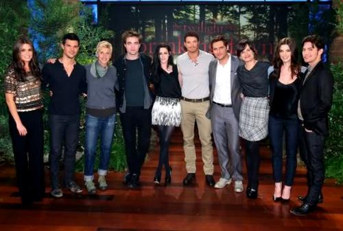 bd casts on The Ellen दिखाना