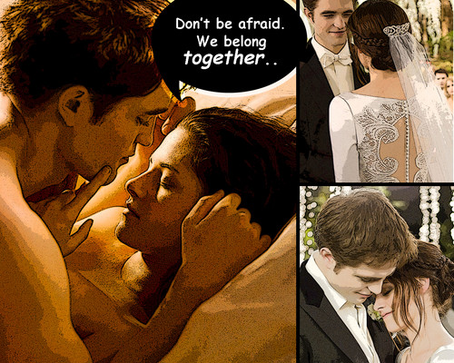 belong together - twilight-movie Wallpaper