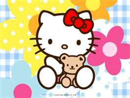 hello kitty in 花