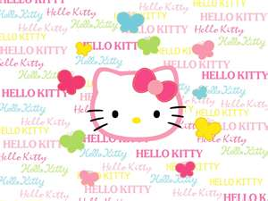 hello kitty's cute