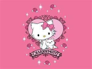i 爱情 hello kitty