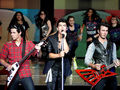 the-jonas-brothers - jonas {awsome concert wallpaper} wallpaper