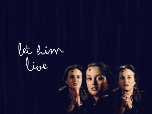 let him live- the end of the affair 5x11 - blair-and-chuck Wallpaper