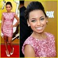 logan b pretty in pink - logan-browning photo
