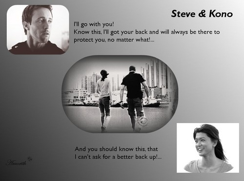Steve and Kono wallpaper entitled mckono