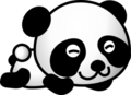 pandas - cartoon-pandas photo