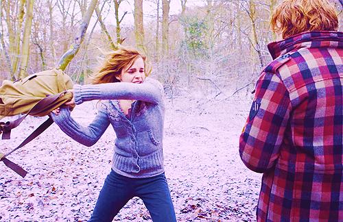 ron+hermione'