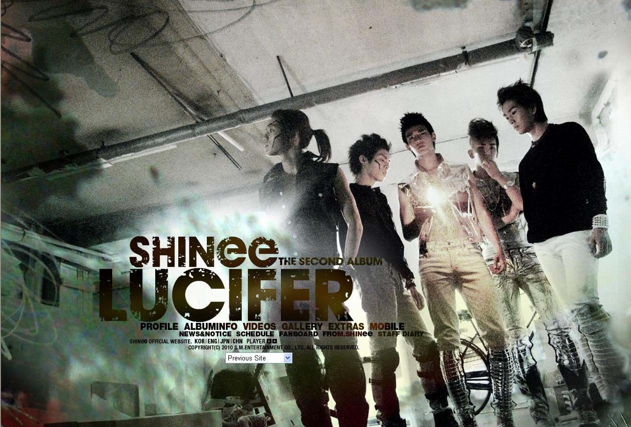 shinee lucifer - Shinee Photo (28538517) - Fanpop Shinee Ring Ding Dong Album Cover