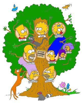 the simpsons albero