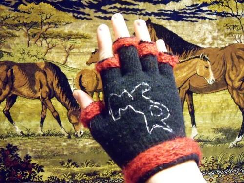 <3Marias MCR Gloves<3