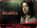 «Grace Chiyn Park» [  朴祉垠 ] alias «Humanoid Cylon model Number Eight» - battlestar-galactica photo