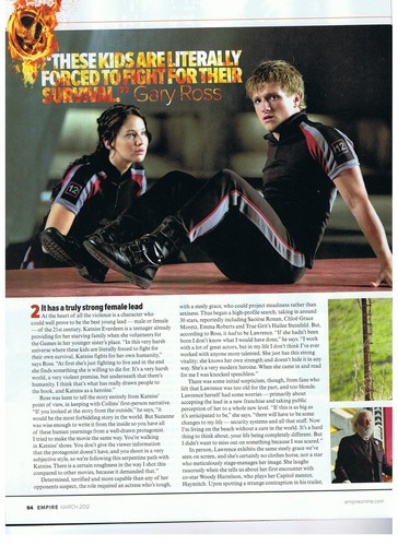 The Hunger Games Movie wallpaper entitled [HQ] Empire magazine scans