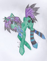 (Havent name this pony yet~) Rave pony, Rave~!