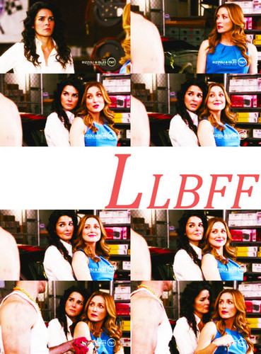 Rizzoli & Isles wallpaper titled -Jane & Maura Alphabet-