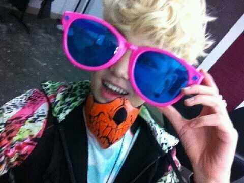 Zelo wallpaper with sunglasses titled ~♥Zelo♥~