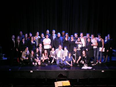 1/16/12 concert reading of Twilight: The Musical!