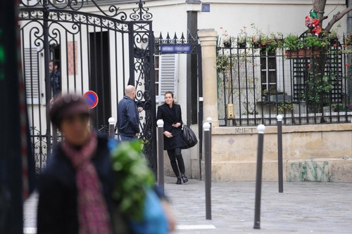 12/01/2012 charlotte Casiraghi and Gad Elmaleh