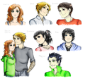 A great family - the-mortal-instruments-series-fanatics fan art