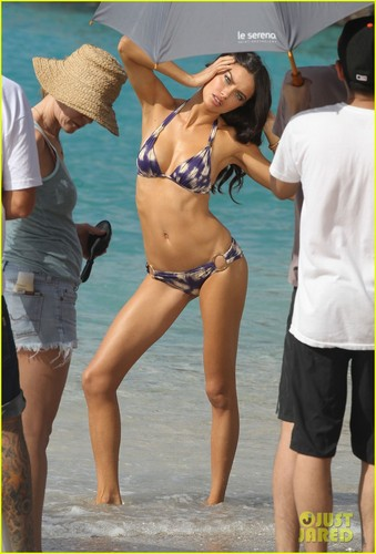 Adriana Lima: Bikini Photo Shoot in St. Barts!