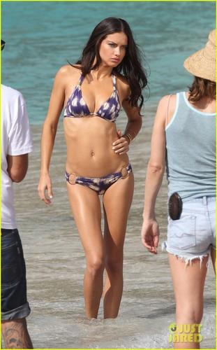 Adriana Lima: Bikini photo Shoot in St. Barts!