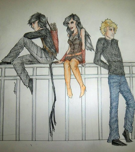 Alec, Isabelle and Jace - the-mortal-instruments-series-fanatics Fan Art